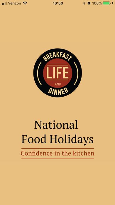 National Food HolidaysScreenshot of 2