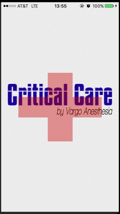 Critical Care Drips