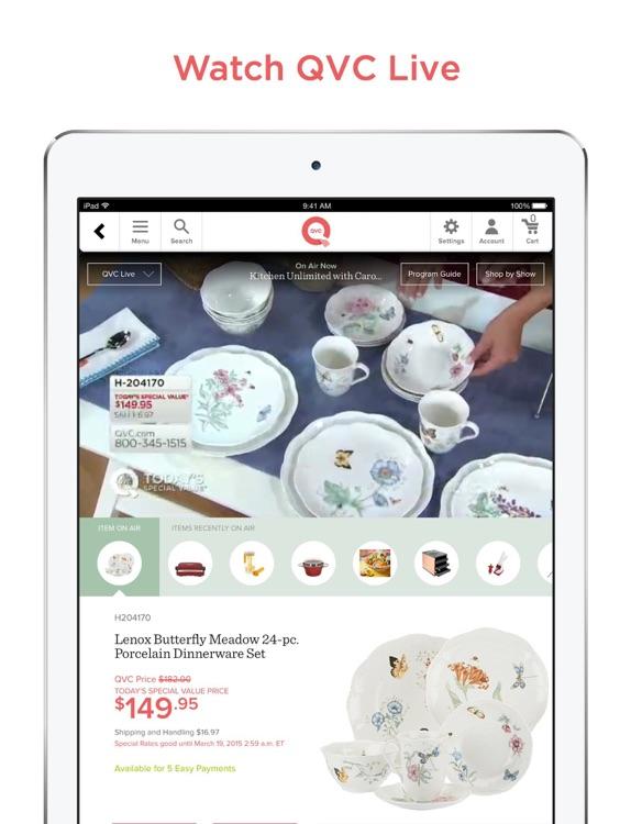 QVC for iPad screenshot-0