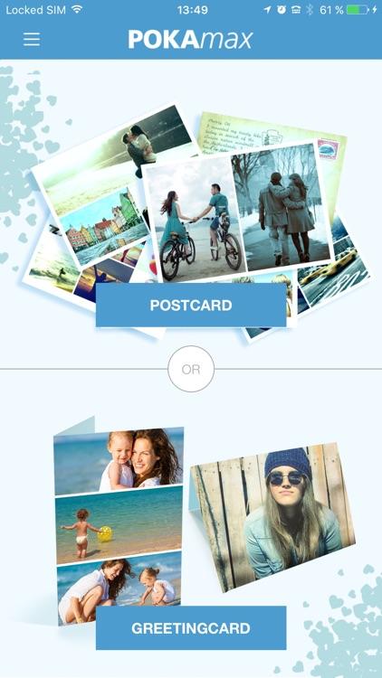 POKAmax – send real postcards