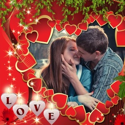 Romantic Love Photo Frame