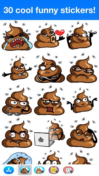 Poop - Cute stickers