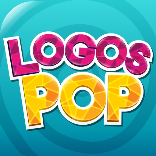 Logos Pop Quiz Game - Guess the puzzle what's that brand name? Free! (English) iOS App