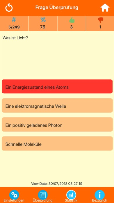 Die Physik Quiz screenshot 5