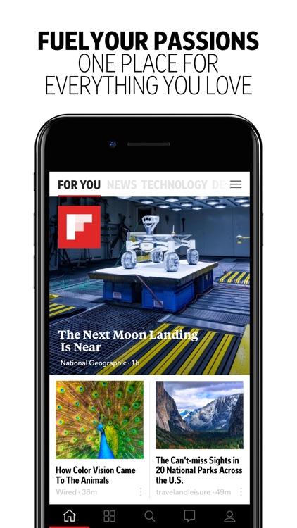 Flipboard: News For You screenshot-0