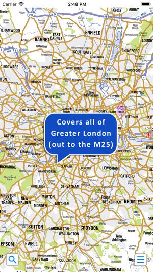 Az London Street Map.Greater London A Z Street Map