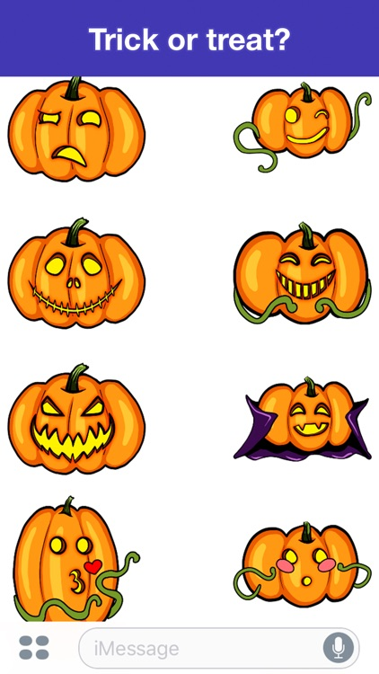 Pumpkins - Halloween stickers screenshot-2