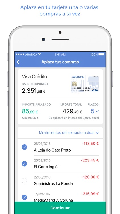 ABANCA - Mobile banking