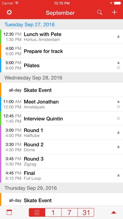 CalAlarm 2 - calendar alarm screenshot-4