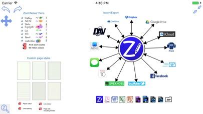 Zoomnotes review screenshots