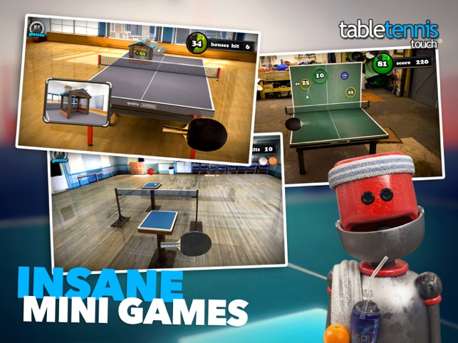 ‎Table Tennis Touch Screenshot
