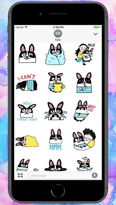 Screenshot for Cry Baby Rabbit Stickers in Colombia App Store