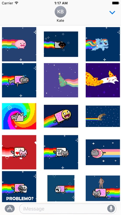 download Animated Cute Nyan Cat Sticker apps 2
