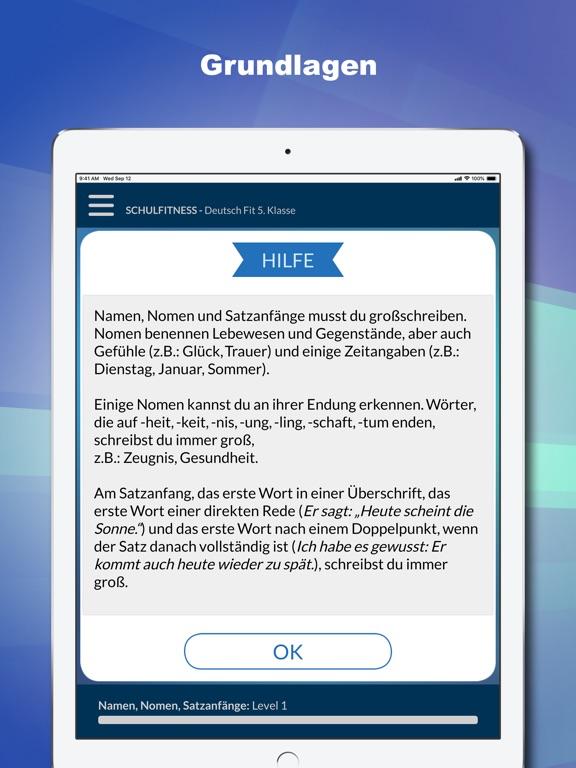 Deutsch Fit 5. Klasse screenshot 8