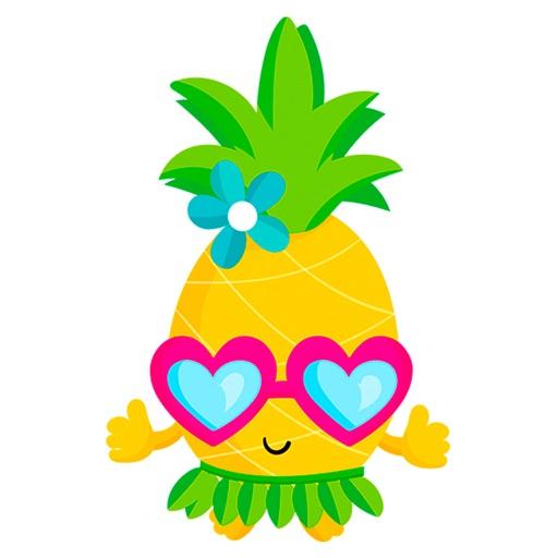 Beach Summer Pineapple Travel