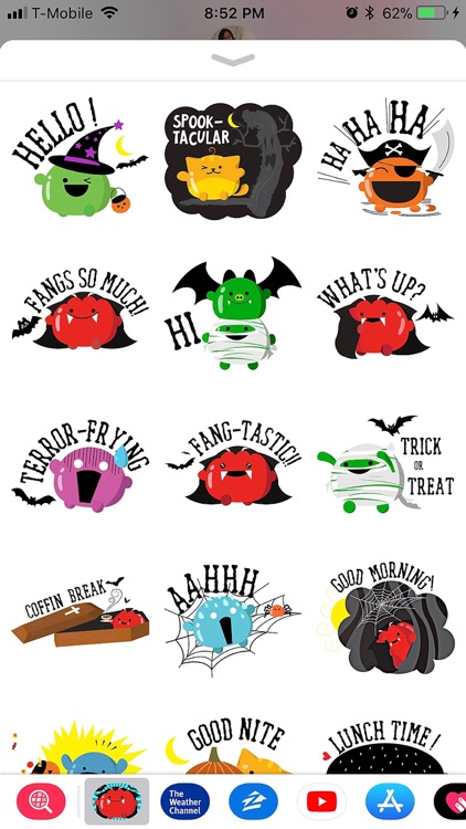Mochi Halloween Stickers screenshot-1