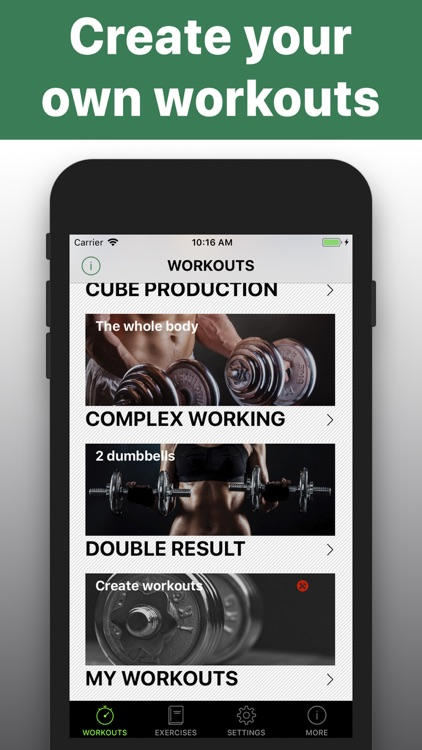 Dumbbell -workout HIIT trainer screenshot-4