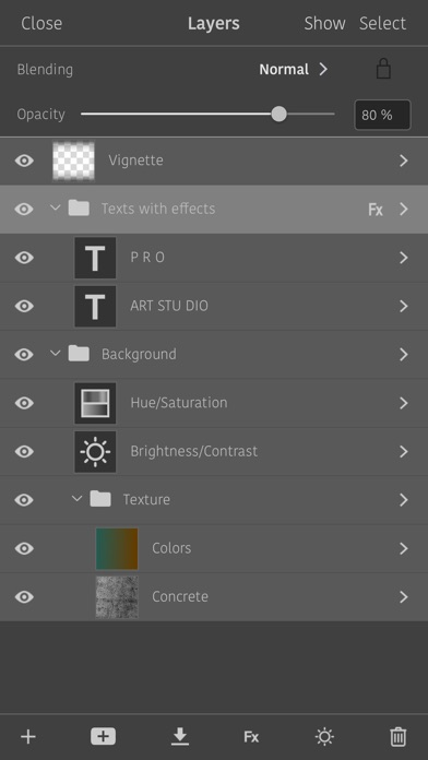 Artstudio Pro: Draw Paint Edit screenshot 5