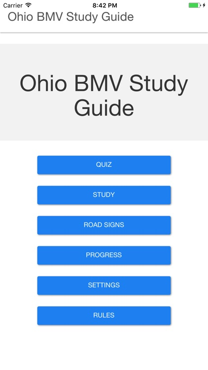 Ohio BMV Study Guide by James Kelly