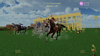 Jumpy Horse Racing screenshot two