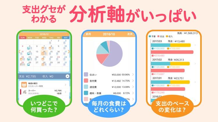 家計簿レシーピ! screenshot-3