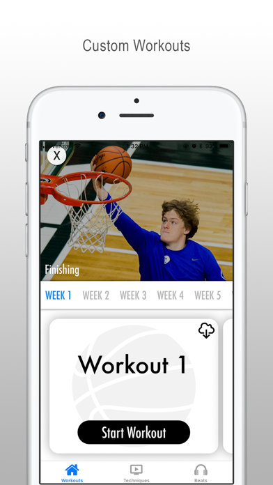 Basketball Training Screenshot