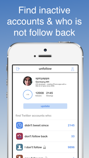 unfollow for Twitter on the App Store