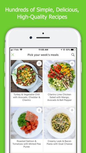Mealime meal plans recipes on the app store screenshots forumfinder Choice Image