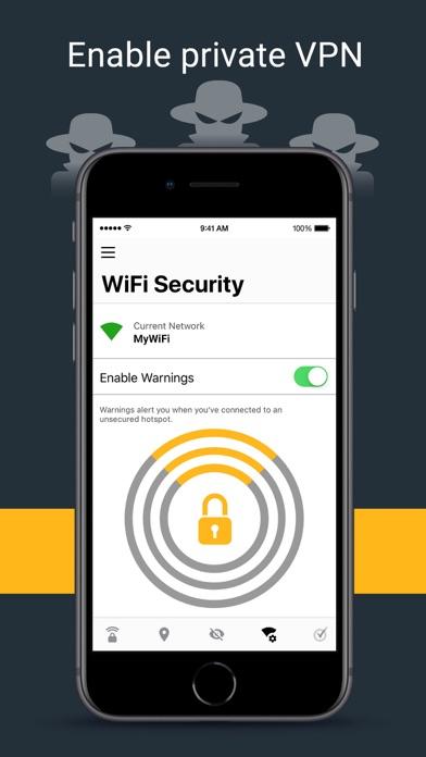 Norton Secure VPN Screenshot