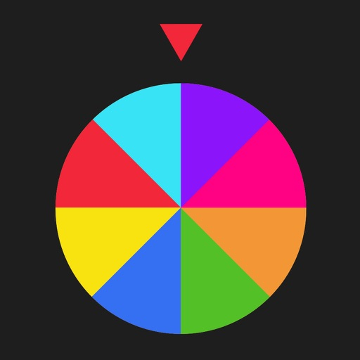 Switch Color by Spinning Wheel