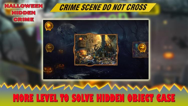 Halloween Hidden Crime Case screenshot-4
