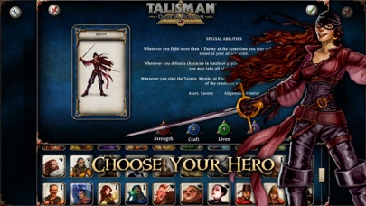Screenshot #7 for Talisman: Digital Edition