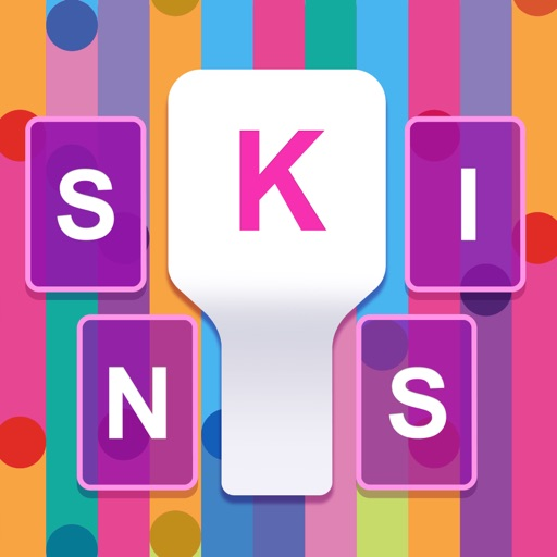 Keyboard Skins for iPhone -  themes, fonts, GIFs