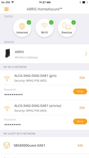 ARRIS HomeAssure™ on the App Store