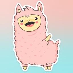 Llama Molly! Stickers