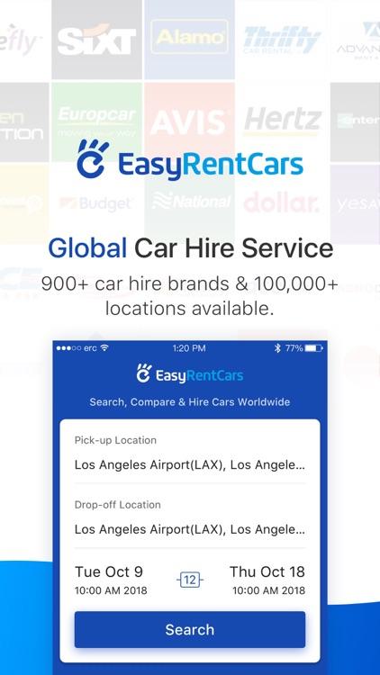 EasyRentCars-Global Car Rental screenshot-0