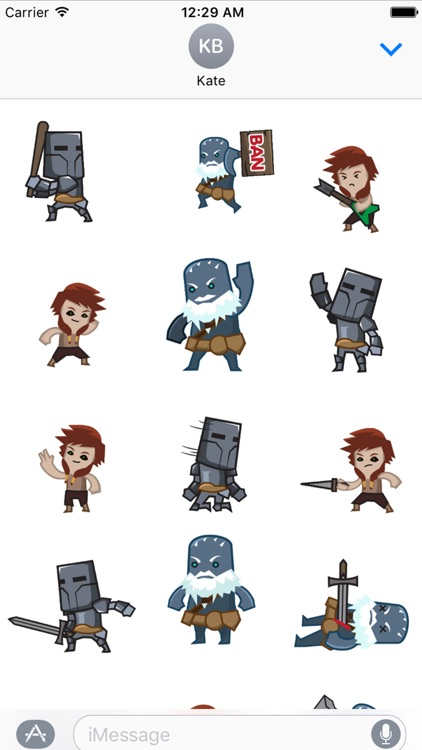 Camelot Unchained Animated Stickers screenshot-1