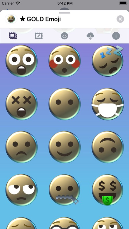 GOLD Emoji • Stickers screenshot-7