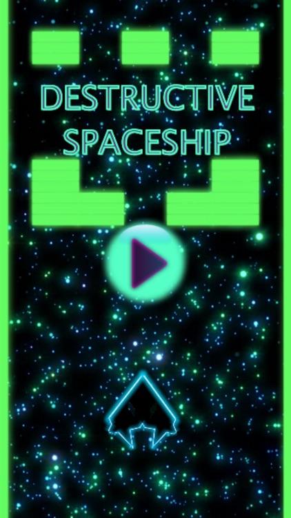 Destructive Spaceship