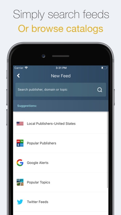 NewsTab: Smart RSS Reader - by Skyter Technologies Ltd