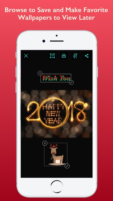 screenshot 6 for happy new year wallpapers 2018
