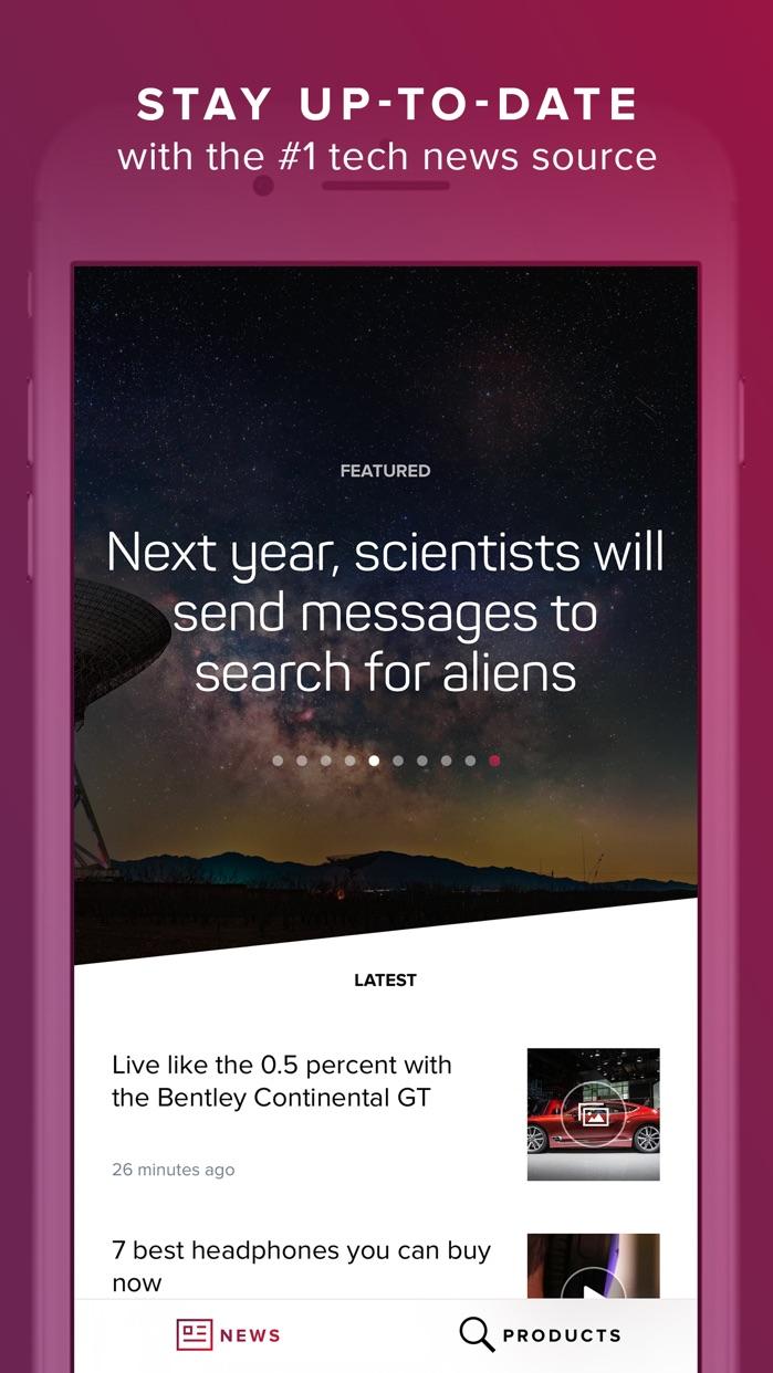 CNET: Best Tech News & Reviews Screenshot