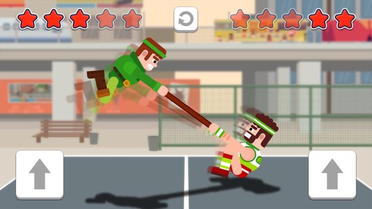 Funny Tug The Table-Jump Game screenshot-0