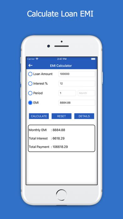 All Loans EMI Calculator screenshot two