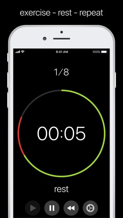 simple circuit training timer \u2013 (ios apps) \u2014 appaggsimple circuit training timer (ios) by motomar sp z o o