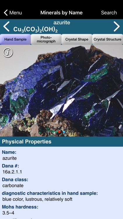 Mineral Database screenshot-0