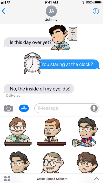 Office Space Stickers