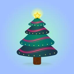 Frozen Christmas Tree Sticker