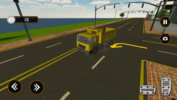 Rock Transporter- Truck Sim 3D screenshot-3