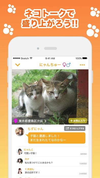 近所の ネコや ノラネコを共有するアプリ『ねこ さがし』紹介画像2